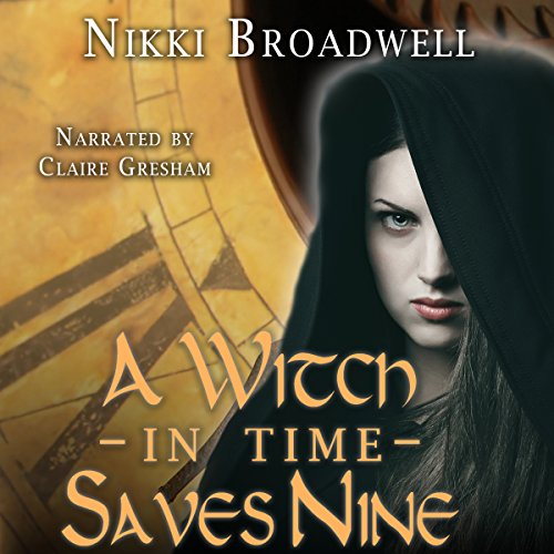A Witch in Time Saves Nine audiobook cover art