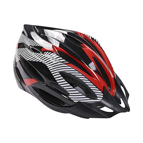 Casco de Bicicleta para Adulto Casco Bici Protector Ligero de Ciclismo con...