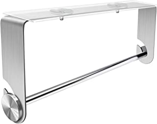 Orimade Adhesive Paper Towel Holder Under Cabinet & Wall Mount Stainless Steel for Kitchen & Bathroom No Drilling