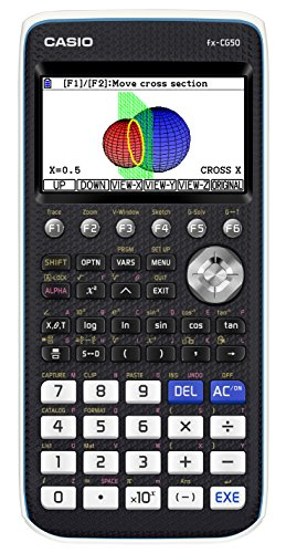 Casio FX-CG50 graphing Calculator with high-Resolution Colour Display...