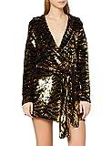 IVYREVEL Blazer Sequin Dress Vestido Fiesta Mujer, Dorado (Gold 710), 34 (Talla del Fabricante: X-Small)