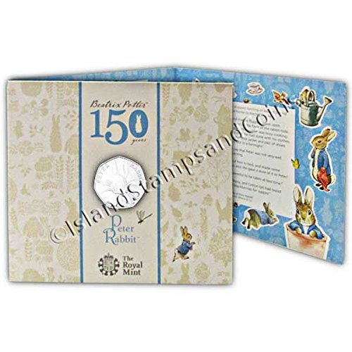 Peter Rabbit 2016 UK 50p BU Coin by Royal Mint