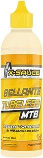 X-Sauce Sellante antipinchazos para tubeless (MTB) Anti Pinchazos, Ruedas, Amarillo, 200ml