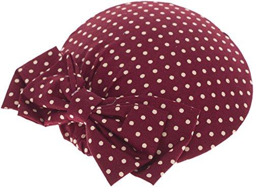 Killer Kirsche Damen Pillbox Hut Dessie Punkte Haarschmuck Mehrfarbig Durchmesser ca. 11, 5cm
