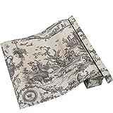 Neoviva - Carta profumata per cassetti, motivo floreale vintage, confezione da 6 fogli, Di...