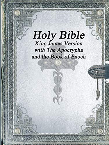 Compare Textbook Prices for Holy Bible King James Version with The Apocrypha and the Book of Enoch 1st Edition ISBN 9781773560380 by Various, AA