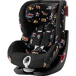 Britax Römer Kindersitz 9 Monate - 4 Jahre I 9 - 18 kg I KING II LS Autositz Gruppe 1 I Flame Red