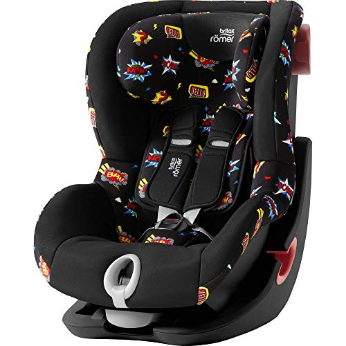 Britax Römer 2000030813 Série Britax Römer KING II Black Series Siège auto Groupe 1 9-18 kg Collection 2019 Comic Fun Multicolore