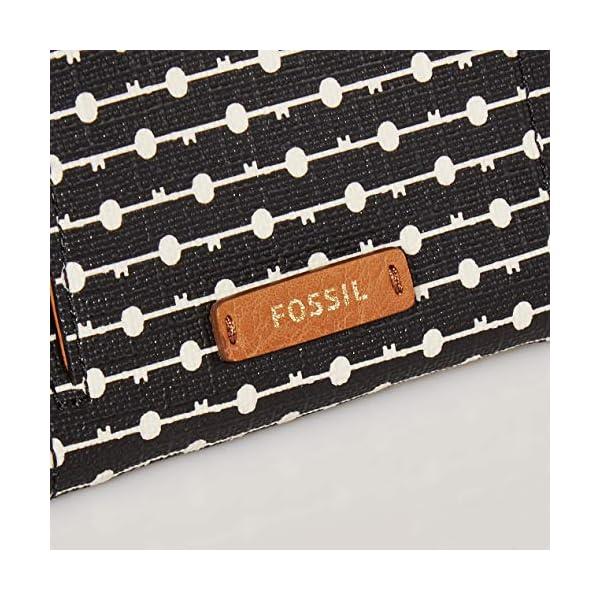 Fossil Women's Logan Leather RFID-Blocking Bifold Wallet 3