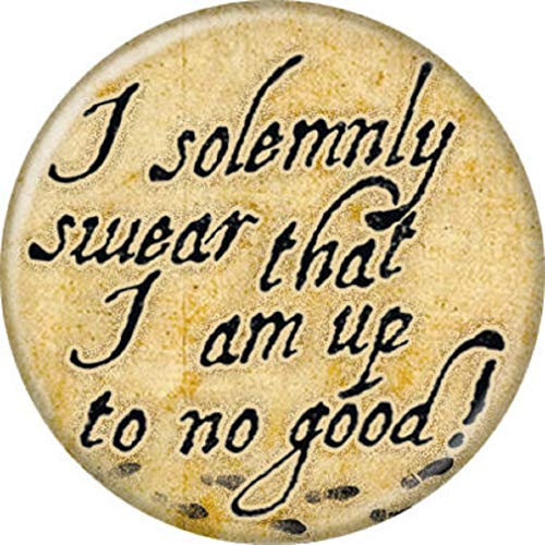 Ata-Boy Harry Potter I Solemnly Swear 1.25' Collectible Pin-Back Button