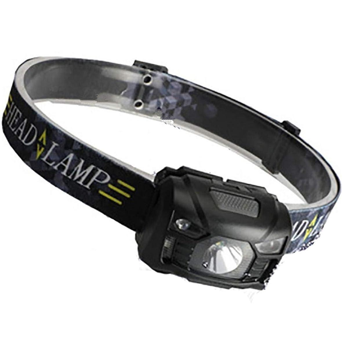 申請中囲まれたフクロウTatuer ヘッドライト USB充電式 センサー機能 ヘッドランプ 高輝度 小型軽量 IPX4防水 五つの点灯モード 釣り/キャンプ/サイクリング/作業/防犯防災などに最適
