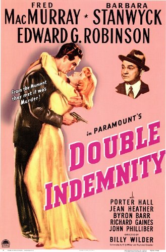 Double Indemnity - Movie Poster - 11 x 17