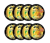 TeaZA Herbal Energy Pouch Mango Habanero Flavor - Nicotine Free Pouches - Energy Dip Pouches [8 Pack]