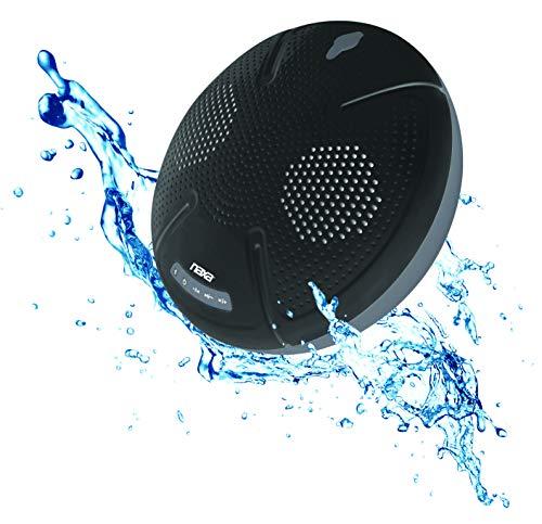 NAXA Electronics NAS-3103 Waterproof Bluetooth Speaker, Black