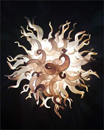 SHIJING Uniek ontworpen handgemaakte gebrande kroonluchter van Muranoglas Customized gekleurd voor KTV Decor