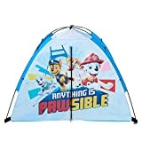 Nickelodeon Paw Patrol Kids One Person, One Room, Camping Dome Tent, Blue