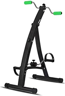 上肢および下肢リハビリテーショントレーナー用ペダルエクササイザー、シニアストローク片麻痺用折りたたみ式エクササイズバイク、抵抗の調整、高さの調整