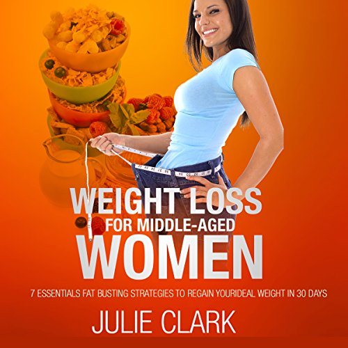 Weight Loss for Middle-Aged Women audiobook cover art