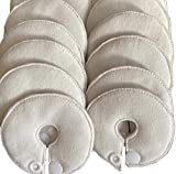 Cutie Button Pads G-tube 10 Pack Pads (white)