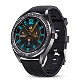 GOKOO Orologio Intelligente Uomo Smartwatch Braccialetto Sport IP68 Impermeabile Cardiofrequenzimetro Monitor del Sonno Orologio Intelligente Activity Tracker Compatibile con Android IOS