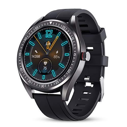 GOKOO Reloj Inteligente Hombre Smartwatch IP68 Impermeable Rastreador Actividad Reloj Deportivo Pantalla...
