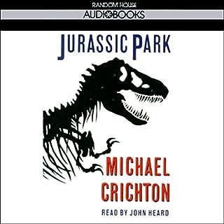 Jurassic Park audiobook cover art