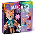 Craft-tastic – Make a Fox Friend – Craft Kit Makes 1 Easy-to-Sew Stuffie with Clothes & Accessories