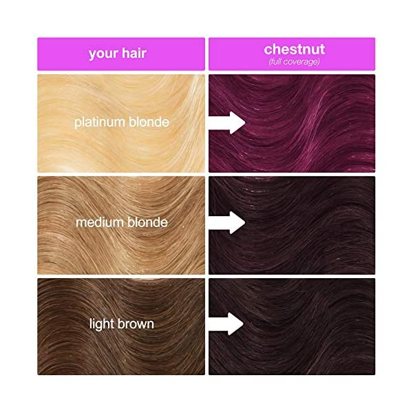 Lime Crime Unicorn Hair Dye, Chestnut - Maroon Brown Fantasy Hair Color - Ultra-Conditioning, Semi-Permanent, Damage… 7