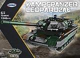 Xingbao Kampfpanzer Leopard II A6, Bundeswehr (Klemmbausteine) ArtikelNr. XB-06040, Teileanzahl: 1346