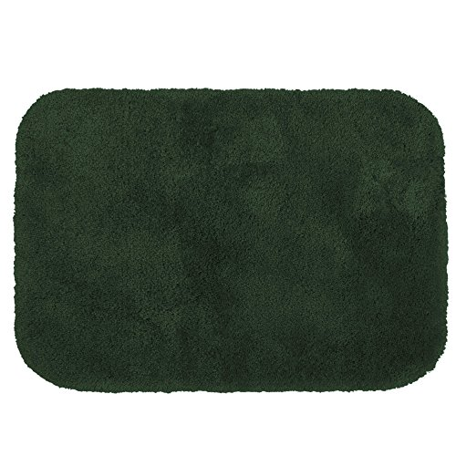 Wamsutta Extra Soft Duet Bath Rug in Forest Color Size 17 Inch x 24 Inch