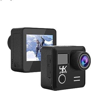 Cámara Digital 1080P HD Sport DV Camera Wifi Ultra HD 4K Cámara De Acción Pantalla LCD 2.0 Camara De Video Lente De Ojo De Pez Ultra Ancha De 170 ° Videocámara Grabación En Bucle Cámara Estanca
