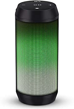 ELEHOT Wireless Bluetooth Portable Speaker with Subwoofer & Lights