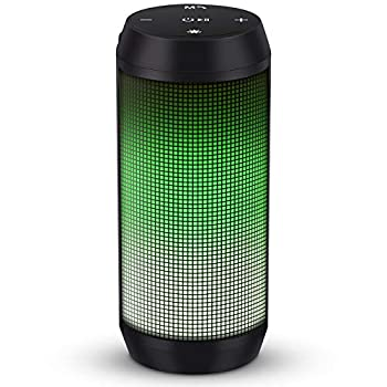 ELEHOT Bluetooth Speaker Portable Wireless Stereo Loud Volume True Wireless Stereo Dual Pairing Speaker with Subwoofer Outdoor 1 PC