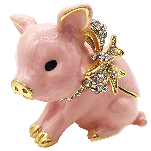 Image of Pig Collectible Box - See More Pig Trinket Boxes