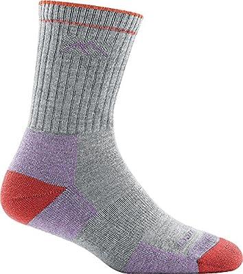 Darn Tough Coolmax Micro Crew Cushion Sock - Women's Light Gray Medium