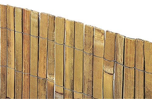 VERDELOOK Arella Beach in cannette di Bamboo 2x3 m, per recinzioni e Decorazioni