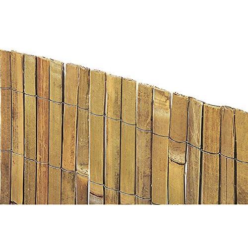 VERDELOOK Arella Beach in cannette di Bamboo 1x3 m, per recinzioni e Decorazioni