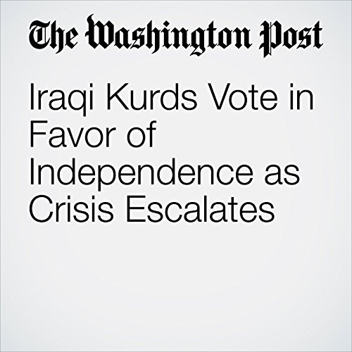 Iraqi Kurds Vote in Favor of Independence as Crisis Escalates copertina