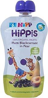 Hipp Organic Plum Blackcurrant In Pear Pouch, 100g