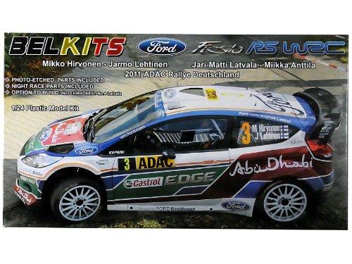 Belkits Ford Fiesta RS WRC Rally Model Kit 1:24 003