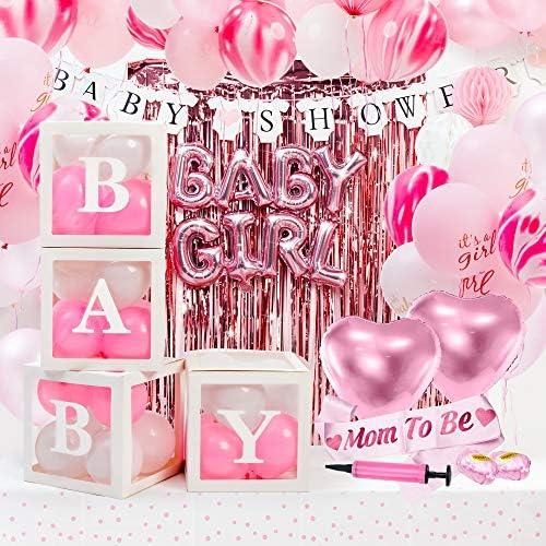 Adornos para baby shower nina _image2