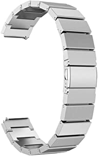 NICERIO Compatible for Huawei Honor S1 Smartwatch, Wrist Watch Band - Delicate Fashion Stainless Steel Strap Replacement W...