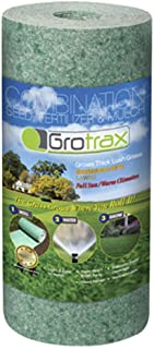 Grotrax Biodegradable Grass Seed Mat | Quick Fix Roll | All in One Growing Solution for..
