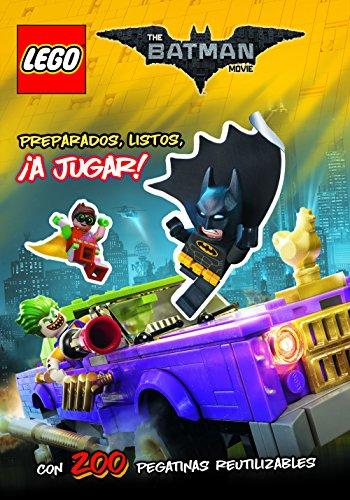Lego Batman. Libro de pegatinas: Preparados, listos, ¡ A jugar!