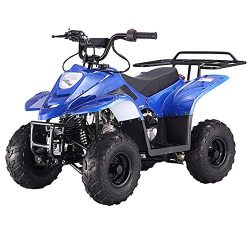 X-PRO 110cc ATV Quad Youth ATVs Quads 110cc 4 Wheeler ATVs ATV 4 Wheelers ,Blue