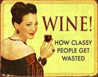 Wine ティンサイン ポスター ン サイン プレート ブリキ看板 ホーム バーために