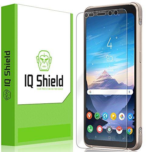 IQ Shield Screen Protector Compatible with Samsung Galaxy S8 Active LiquidSkin Anti-Bubble Clear Film