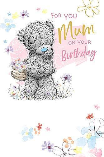 Mum Birthday Me To You Bear Tatty Teddy Carte Blanche Birthday Card