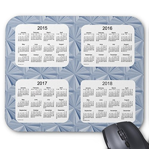 Hallo mr pad blue diamonds 4 jahre 2015-2018 kalender mousepad