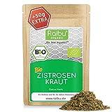 RAIBU® Zistrosenkraut BIO I Geprüfte BIO-Qualität & abgefüllt in Deutschland I Cistus Tee...